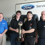 LISD TECH Center  Students Place second in the State,  FORD/AAA  Student Auto Skills Competition