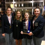 LISD TECH Students Take First Place at International Marketing Competition