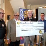Adrian Noon Rotary Club Supports Continued Business Startup Efforts
